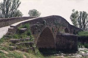 Camino Medieval Bridge at Cirauqui Navarre