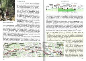 Chemin de St. Jacques - La Via Podiensis du Puy-en-Velay aux Pyrénées - binnenbladzijden