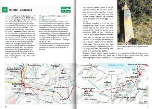 Spaanse St. Jacobsroute - Van de Pyreneeën naar Santiago de Compostela - binnenbladzijden