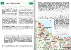 St. Jacobsroute - Camino del Norte - De kustroute van Irún naar Santiago de Compostela - binnenbladzijden