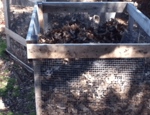 pallet and wire do it yourself compost bin