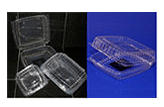 Reynolds Clear Hinged Multi Sized Containers (Heat Tolerance UP TO 105°F)