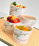 Huhtamaki PLA Lined Paper Containers