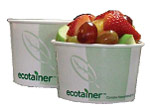 International Paper-EcoTrainer PLA lined Paper Hot Food Bowl