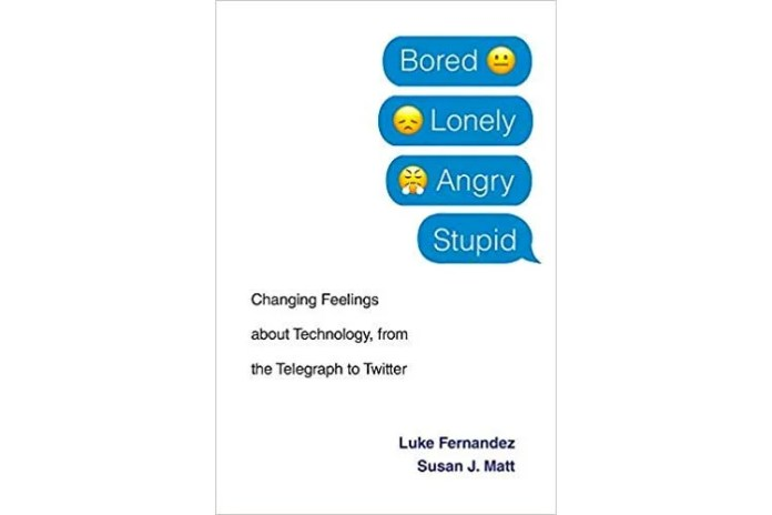 Book cover of Bored, Lonely, Angry, Stupid