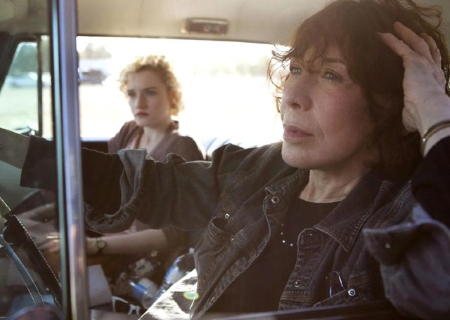 Julia Garner As Sage And Lily Tomlin As Elle In Grandma