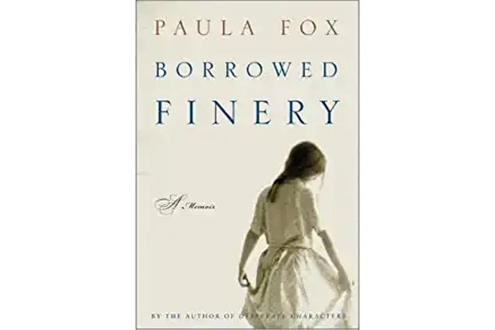 Borrowed Finery book cover.