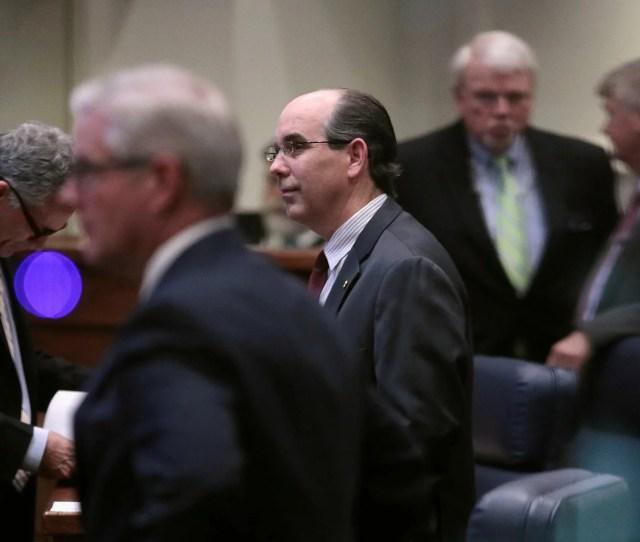 Chambliss With Other Alabama State Senators Around Him