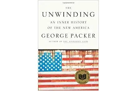 The Unwinding book cover.