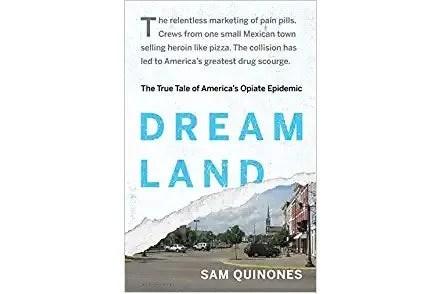 Dreamland book cover.