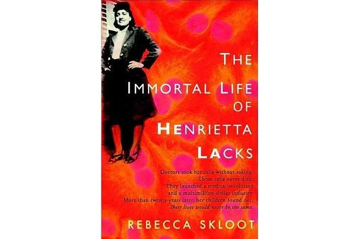 The Immortal Life of Henrietta Lacks book cover.