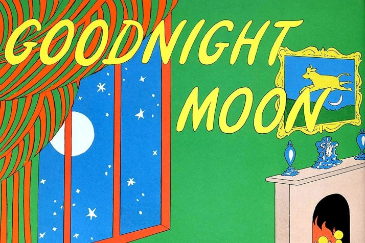 The cover of Goodnight Moon.