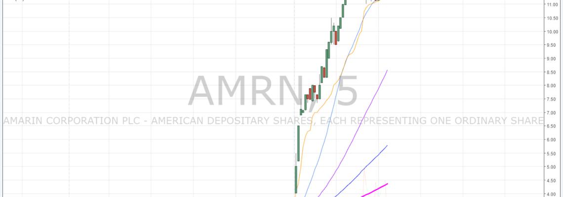 $AMRN, premarket, trading, plan, daytrading