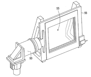 The voice coil actuator driven scanning assembly used to shift one of the lens arrays relative to the other at high frequencies.