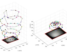 Near Light Correction for Image Relighting and 3D Shape Recovery