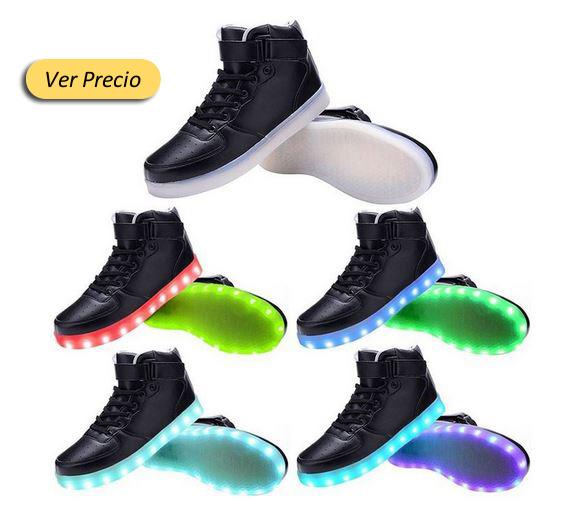 Zapatos Luces Mejores En Con Pqffxgw7 Led Amazon Los IFnnqHrz