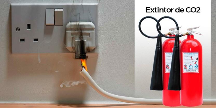 Extintor de CO2 - Dióxido Carbónico