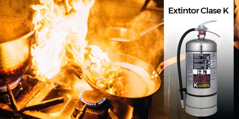 Extintor Clase K