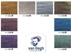 Acuarelas Metalizadas Van Gogh - Carta de colores