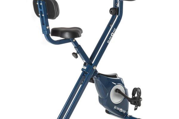 Bicicleta estática Klarfit Azura