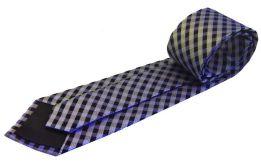 corbata cuadros azules