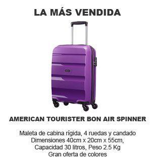 maleta de cabina mas vendida - American Tourister Bon Air Spinner