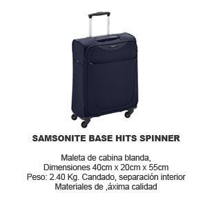 Samsonite base hits spinner - maleta de cabina
