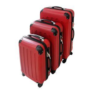 set de 3 maletas trolley todeco maletas de viaje