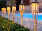 Las 5 mejores antorchas exteriores para jardín