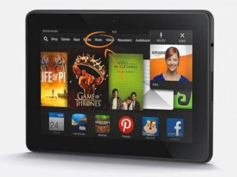 Comprar tablet Kindle Fire HDX 7