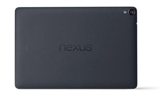 Dorso tablet Nexus 9