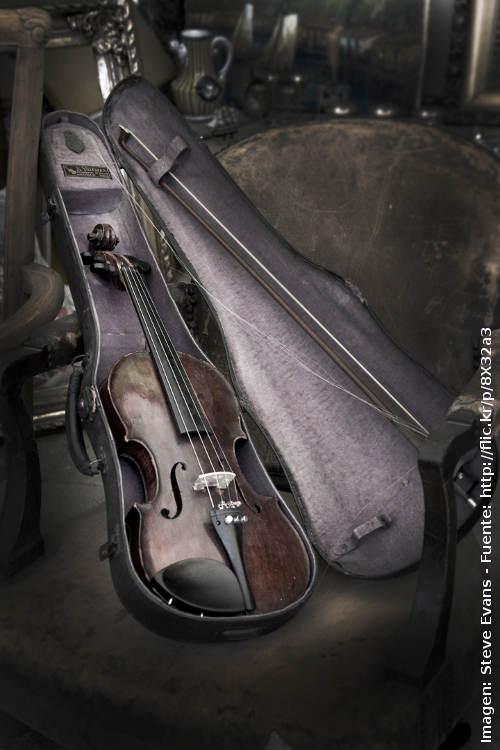 comprar un violin de segunda mano