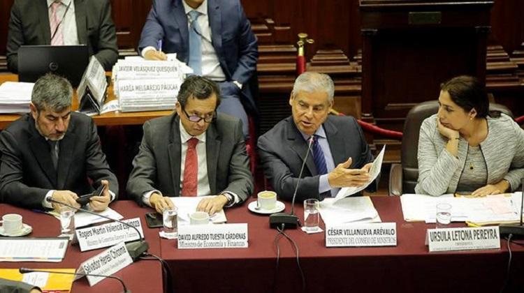 """César Villanueva: """"Es urgente la modernización de la gestión del Estado"""""""