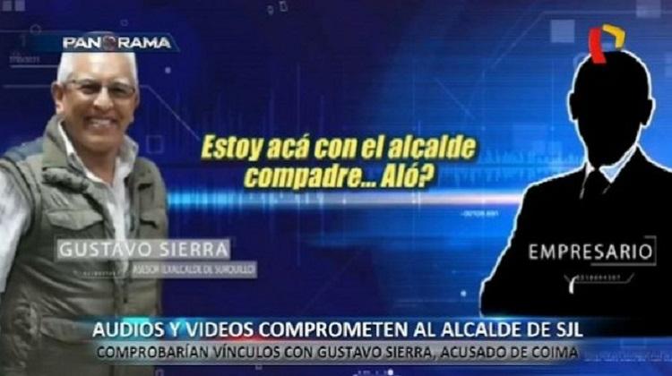 Nuevos audios involucrarían a alcalde Álex Gonzales con detenido Gustavo Sierra (Video)