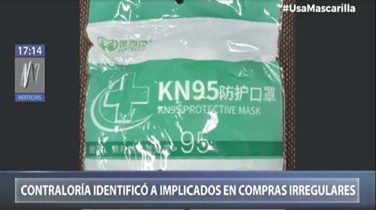 Contraloría identificó a implicados en presunta compra irregular de alcohol y mascarillas (Video)