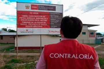 Alertan trabajos no ejecutados en obra de pistas y áreas verdes en Bagua