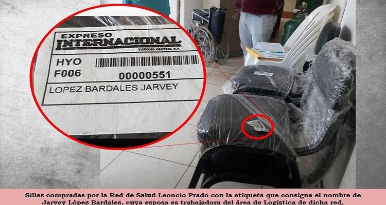 Advierten corrupción en compra de mobiliario en Red de Salud Leoncio Prado