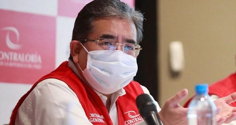 Chiclayo: contralor general Nelson Shack llegó a supervisar obras