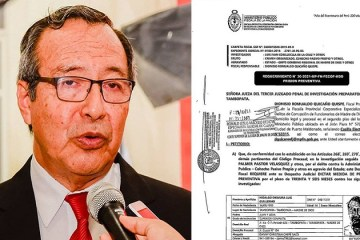 Fiscalía pide 36 meses de prisión preventiva contra gobernador de Madre de Dios