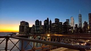 Ponte do Brooklyn: pôr do sol incrível e vista panorâmica de Manhattan
