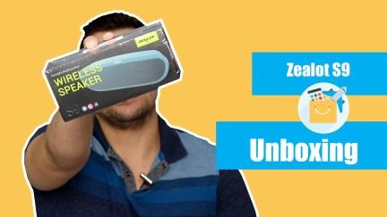 Unboxing Zealot S9