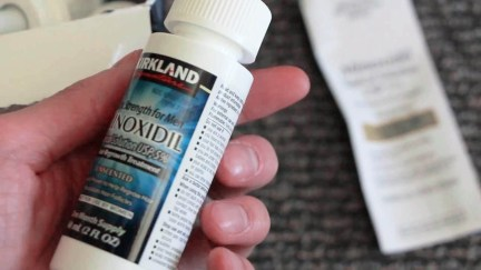 importar Minoxidil Rogaine e Minoxidil Kirkland