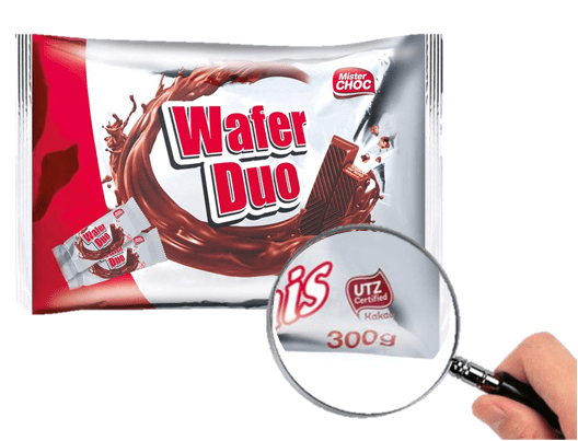 Chocolatinas Wafer duo -Lidl