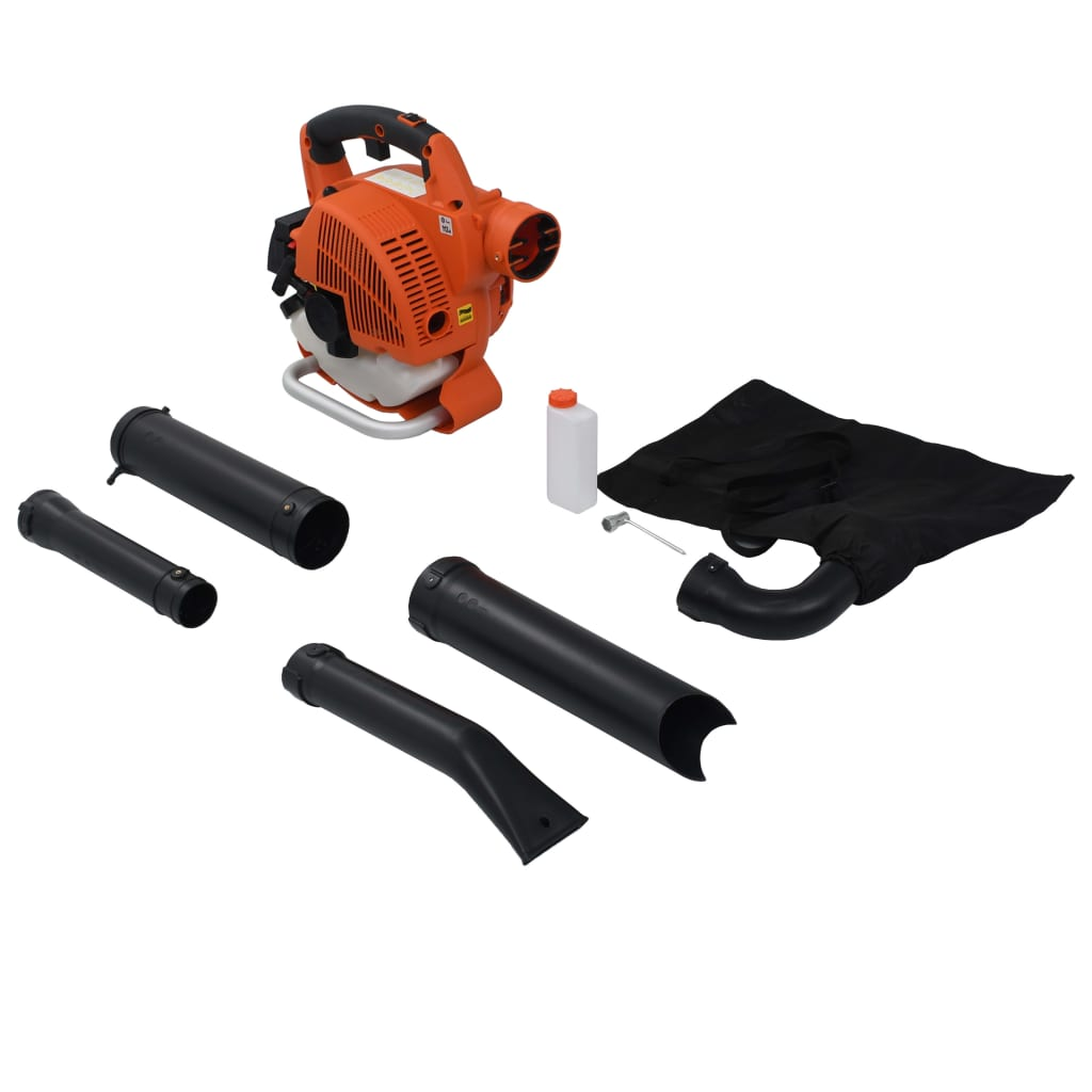 Soplador de Hojas a Gasolina 3 en 1 con 26 cc (Naranja)