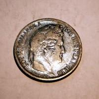 FRANCIA LUIS FELIPE I 5 FRANCOS 1831 BB. M.B.C