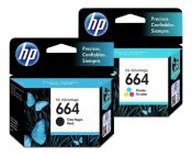 Cartuchos HP 664 originales y alternativos XL.