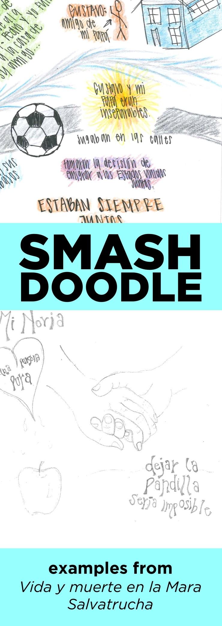 See some simple smash doodle notes from Vida y muerta en la mara salvatrucha