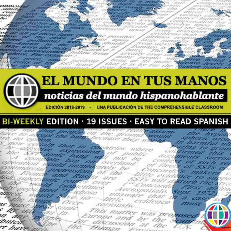 News stories in easy to understand Spanish for Spanish students and language learners form the Spanish speaking world