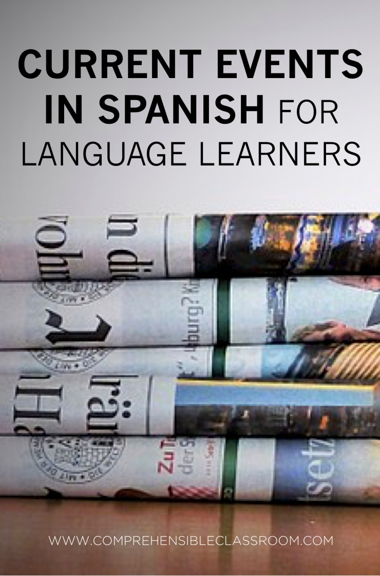 Weekly news stories in Spanish delivered to your inbox--news summaries from the Spanish speaking world. Perfect for Spanish students and language learners! EL MUNDO EN TUS MANOS