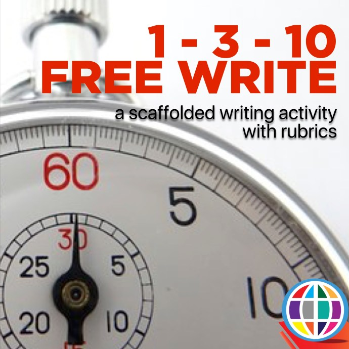 1 3 10 timed write is a scaffolded writing activity that gives students processing time, allowing them to more effectively transfer the ideas in their head onto paper